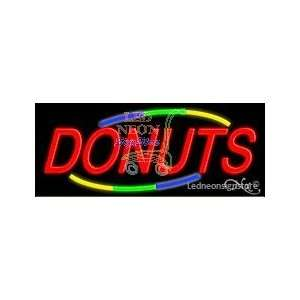 Donuts Neon Sign 13 Tall x 32 Wide x 3 Deep Everything