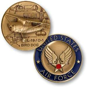L 19 / O 1 Bird Dog    Air Force Challenge Coin: Everything Else