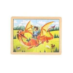 Imaginarium 12 Piece Jigsaw Puzzle   Dragonrider Toys & Games