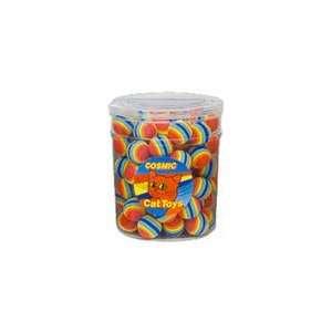 Pet Products CCCT56010 Rainbow Balls 80 Pieces Jar Pet Supplies