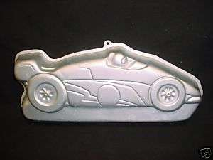 Wilton Lg RACE CAR cake pan Indy Speed Racing mold tin