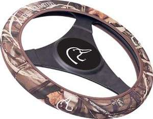 Ducks Unlimited Camo Golf Cart Steering Wheel Cover