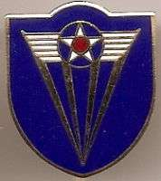 4th ARMY AIR CORPS   DUI**pin back**RARE**