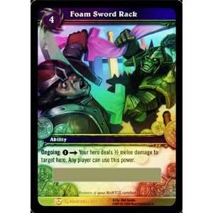 Foam Sword Rack   World of Warcraft TCG Loot Card