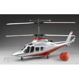 New Art Tech 4 Channel 400 Class Agusta Double rotor Helicopter