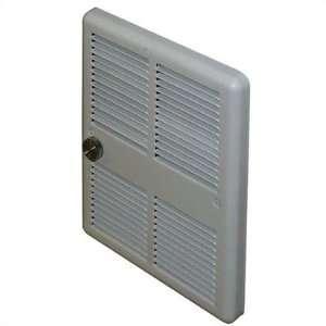 Economical Mid Size 240v Double Pole Fan Forced Wall Heater w/ Back