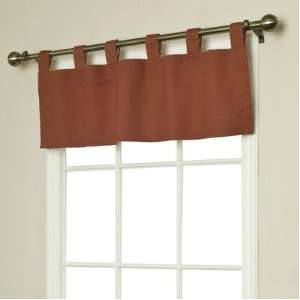 Thermalogic Insulated Solid Color Tab Top Valance in