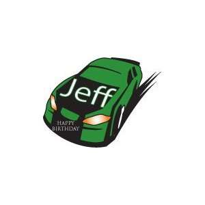 Kids Wall Stickers and Decor / Jeff Race Car Baby