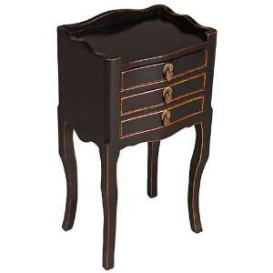 EXP Handmade Asian furniture 27 Elegant Antique Style Black Wood