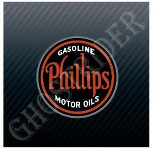 Gas Gasoline Fuel Pump Station Vintage Sticker Decal