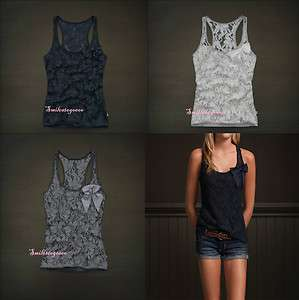 NWT Hollister Womens Fasion Top Tank Lace Blouse Desert Springs S/M/L