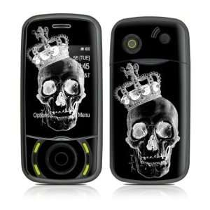 Skull King Black Design Protective Skin Decal Sticker for