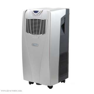 10,000 BTU Portable Air Conditioner and Heater Unit Silver New AC