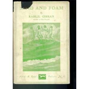 Knopf Seventh Printing January 1942. Gilt Cover: Kahlil Gibran: Books