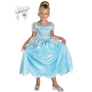 Disguise Brand Girls Disney Deluxe Cinderella Princess Dress Up