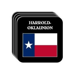 US State Flag   HARROLD OKLAUNION, Texas (TX) Set of 4 Mini Mousepad