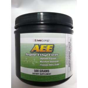 LiveLong Arginine Ethyl Ester (AEE) 500g Health