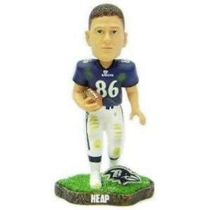 Todd Heap Game Worn Forever Collectibles Bobblehead