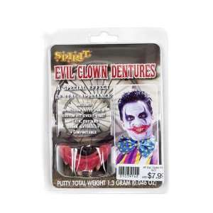 Evil Clown Teeth: Toys & Games
