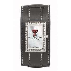 Texas Tech Red Raiders Ladies NCAA Starlette Watch (Wide