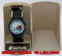 Lorus Mickey Mouse Flying Animated Airplane Watch   Out of Production