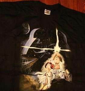 Family Guy Blue Harvest Star Wars Stewie T Shirt XL