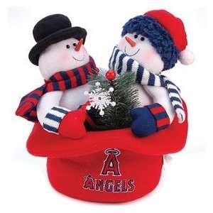 Los Angeles Angels of Anaheim Snowmen Top Hat Sports