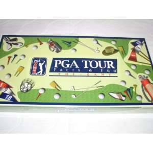 PGa Tour Factts & Fun The Game (Board Game): Toys & Games