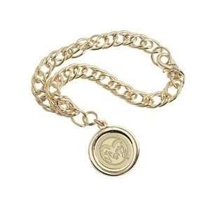 Colorado State   Charm Bracelet   Gold