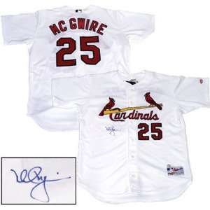 Mark McGwire St. Louis Cardinals Autographed Jersey