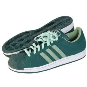 ADIDAS Mens Superstar 2 Green Basketball Shoe Adidas