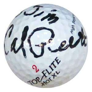 Calvin Peete Autographed / Signed Golf Ball Sports