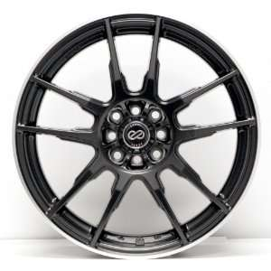 18x7.5 Enkei FLC 01 (Black) Wheels/Rims 5x112/114.3 (440
