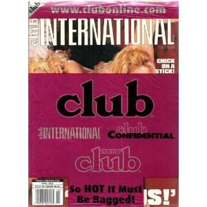 CLUB INTERNATIONAL MAGAZINE APRIL 2002: CLUB INTERNATIONAL