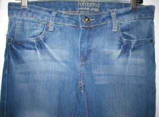 Fornarina NEW $100+ Dark Blue denim jeans low skinny 27