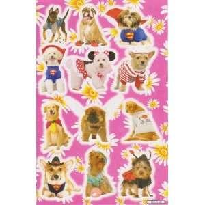 THE DOG Puppy Animal Vinyl Decal Sticker Sheet P04