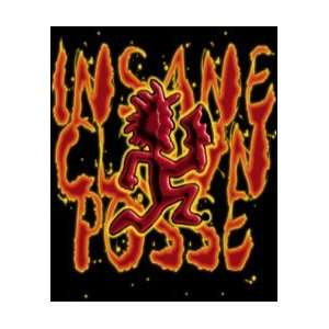 ICP Insane Clown Posse Hatchetman Micro Raschel Fleece