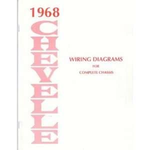 1968 CHEVROLET CHEVELLE Wiring Diagrams Schematics Automotive
