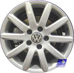 Volkswagen Jetta 2005 2006 16 inch COMPATIBLE Wheel, R