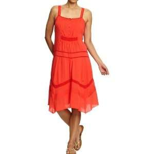Old Navy Womens Lace Trim Drop Waist Dress