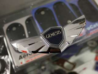 HYUNDAI GENESIS KDM OEM TAIL TRUNK WING EMBLEM *NEW*