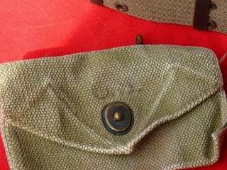 PC. WAC NURSE M43 FIELD JACKET LEGGINGS MEDICAL BAG WEB BELT & POUCHES