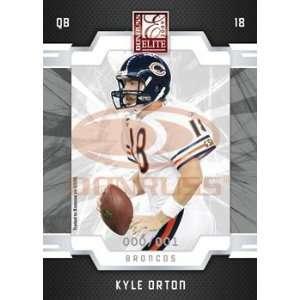 Kyle Orton   Denver Broncos   2009 Donruss Elite NFL