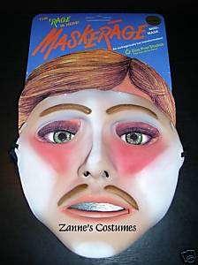 Maskerage Gigolo/Macho Man Costume Mask Adult Prop