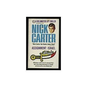 Assignment Israel nick carter Books