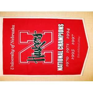 Nebraska Cornhuskers (University of)   NCAA National