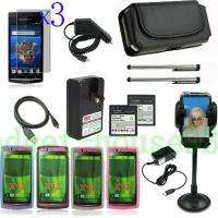 16items for sony ericsson xperia arc x12 Battery Car holder charger