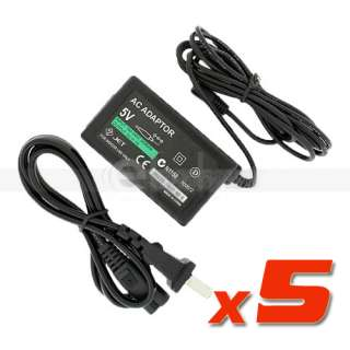 New Home AC Wall Power Adapter Charger for SONY PSP