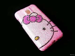 Pink Hello Kitty Bling Crystal RHINESTON Cases for LG Optimus 2X / T