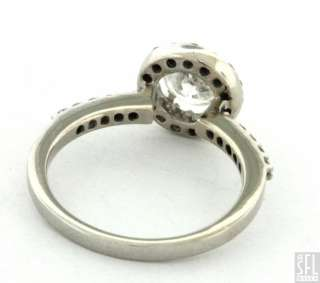 14K WHITE GOLD ELEGANT 1.30CT DIAMOND WEDDING/ENGAGEMENT RING SIZE 7